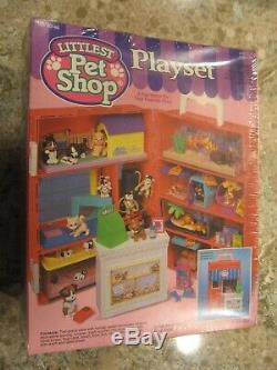 Kenner 1993 Littlest Pet Shop Playset Case Factory Sealed