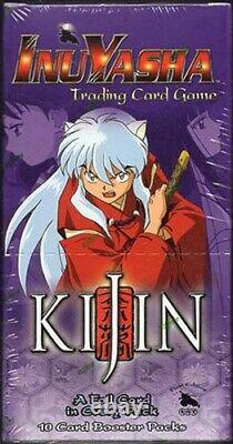 Kijin Inuyasha Booster Case (4 -1st Edition Boxes Per Case) Factory Sealed Rare