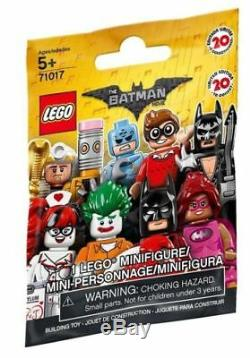 LEGO 71017 The Batman Movie CASE 60 MINIFIGURES PACKS PACK SEALED BROWN BOX