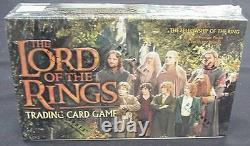 Lotr TCG/CCG Fellowship Of The Ring FACTORY SEALED CASE of 12 Booster Boxes Box