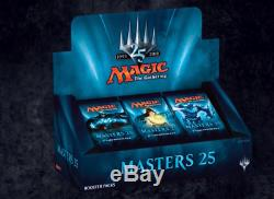 MTG MASTERS 25 CASE of 4 BOXES 96 BOOSTER PACKS FACTORY SEALED