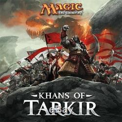 Magic MTG Khans of Tarkir KTK Factory Sealed Booster Box Pack Case The Gathering