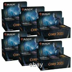 Magic the Gathering Core Set 2021 Booster Case (6x Boxes) FACTORY SEALED NEW