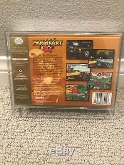 Mario Kart 64 Nintendo 64 Brand New Factory Sealed with display case