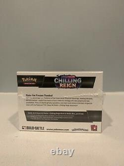 POKEMON CHILLING REIGN BUILD AND BATTLE BOX CASE x 1 FACTORY SEALED