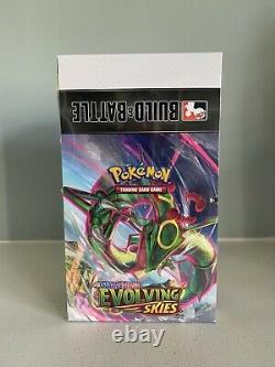 POKEMON EVOLVING SKIES BUILD AND BATTLE BOX CASE x 1 FACTORY SEALED