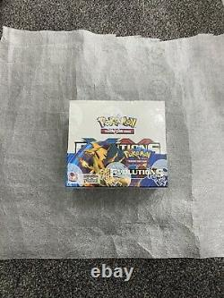 POKEMON XY EVOLUTIONS FACTORY SEALED BOOSTER BOX CASE FRESH 36 Packs BOX 6