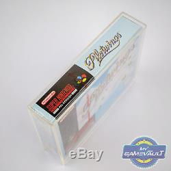 Pilot Wings Super Nintendo SNES Game NEW Factory Sealed UK PAL + Acrylic Case