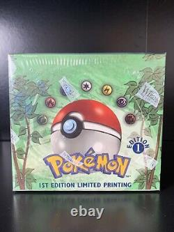 Pokemon 1999 Jungle 1st Edition Booster Box English FACTORY SEALED With Case