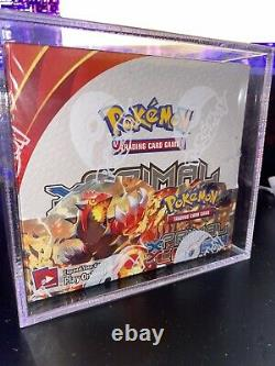Pokemon Booster Box XY Primal Clash Factory Sealed With acrylic case