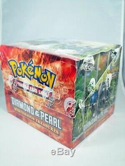 Pokemon Diamond and & Pearl Mysterious Treasures Factory Sealed Theme Deck Case