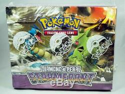 Pokemon Diamond and & Pearl StormFront Factory Sealed Theme Deck Case