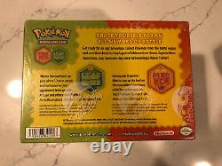 Pokemon Fire Red Leaf Green Factory Sealed Theme Deck Case