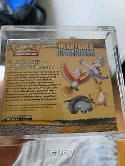 Pokemon HEARTGOLD SOULSILVER Booster Box HGSS Mint Factory Sealed with Case VHTF
