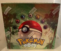 Pokemon Jungle Unlimited Edition Booster Box 36 Packs FACTORY SEALED with Case