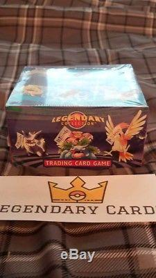 Pokemon Legendary Collection Factory Sealed NEW Booster Box + Acrylic case psa