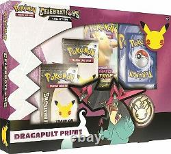 Pokemon TCG Celebrations Collection Dragapult Prime Factory Sealed CASE OF 6