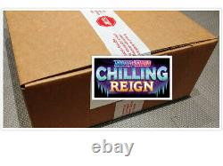 Pokemon TCG Chilling Reign Elite Trainer Box Case of 10 Boxes Factory Sealed