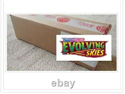 Pokemon TCG Evolving Skies Booster Box Case of 6 Booster Boxes Factory Sealed