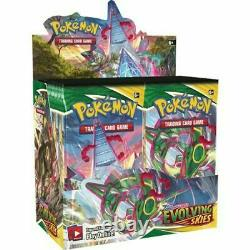 Pokemon TCG Evolving Skies Booster Case (6x Boxes) Factory Sealed