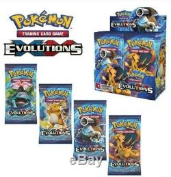 Pokemon Tcg Xy 12 Evolutions Booster Box Case! Factory Sealed! 6 Booster Boxes
