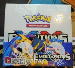 Pokémon XY Evolutions Booster Box (Factory Sealed and Mint) Straight from Case