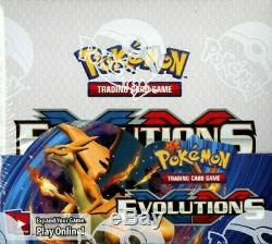 Pokemon XY Evolutions Booster Box of 36 Packs Factory Sealed CASE! 6 Display Box