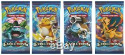 Pokemon XY12 EVOLUTIONS 1 CASE (6x Booster Boxes) Factory Sealed
