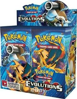Pokemon XY12 Evolutions Booster Box Case 6 Booster Boxes Factory Sealed english