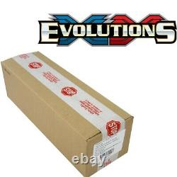 Pokemon XY12 Evolutions Booster Box Factory Sealed Case of 6 Boxes OUT OF PRINT