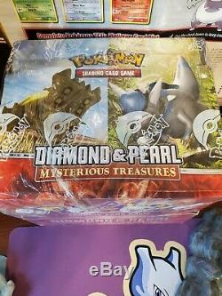 Pokemon diamond and pearl Mysterious Treasures Theme Deck Case factory sealed