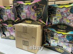 Premium Collection Shining Fates Case Of 6 Factory Sealed 42 Booster Packs Total