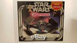 Star Wars Collectors Series Vader Tie Fighter MIB Factory Sealed with Acrylic Case