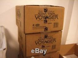 The Quotable Star Trek Voyager Factory Sealed 12 Box Hobby Case with 36 Autographs