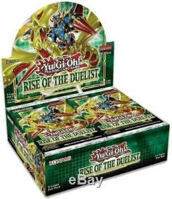 YUGIOH Rise of The Duelist Booster Box CASE Factory Sealed! 12 BOXES PER CASE