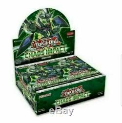 YuGiOh! Chaos Impact Booster Box 1st Edition CASE (12 boxes) New Factory Sealed