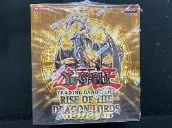 Yugioh 1st Edition Rise of the Dragon Lords Structure Deck Case Factory Sealed