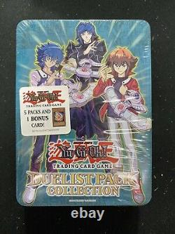 Yugioh! 2008 Duelist Pack Collection Tin Case of 6 Tins Factory Sealed