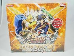 Yugioh 5D'S Raging Battle Special Edition SE Box Factory Sealed Case