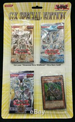 Yugioh GX Special Edition Blister Pack Case 24ct FACTORY SEALED