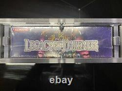 Yugioh Legacy Of Darkness 1st Edition Factory Sealed Booster Box W Acrylic Case