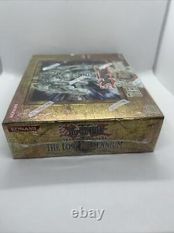 Yugioh The Lost Millennium 1st Edition Booster Box Case Factory Sealed