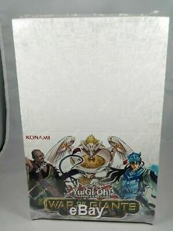 Yugioh War Of The Giants Round 2 Booster Box Case Display New Factory Sealed