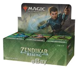 Zendikar Rising Draft Booster Case 6 Boxes Brand New and Factory Sealed! MTG